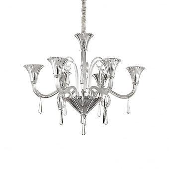 Ideale Lux Santa 6 lamp hanger licht