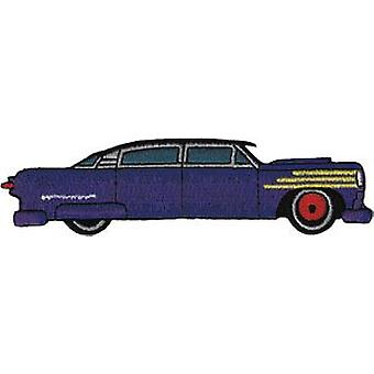 Patch - Automoblies - Purple Hot Rod Iron On Gifts New Licensed p-3767