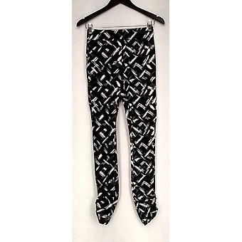 Kate & Mallory afslanken Ruched kant detail leggings Womens A426083