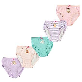 Crafted Essentials Mädchen 5 Pack Slips Kinder