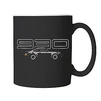 930 911 Turbo, Classic Sports Car Mug - Motoring Cup Gift