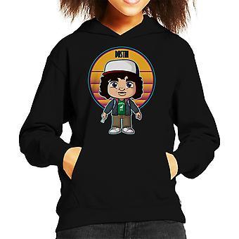 Fremde Dinge süße Dustin Kid's Kapuzen Sweatshirt