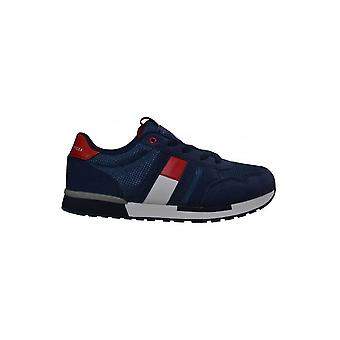 Tommy Hilfiger Boys Tommy Hilfiger Kids Navy Blue Lace Up Trainers