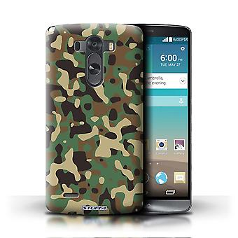 STUFF4 Case/Cover for LG G3/D850/D855/Green 3/Camouflage Army Navy