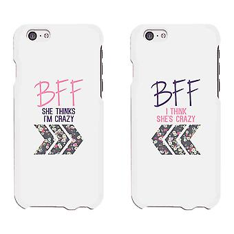 BFF Floral Arrow Cute BFF Mathing Phone Cases For Best Friends Gift
