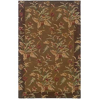 Windsor 23101 tan/brown indoor area rug rectangle 8'x10'