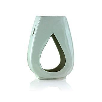 Ashleigh & Burwood Droplet Fragrance Olie Varmere Burner Hvid
