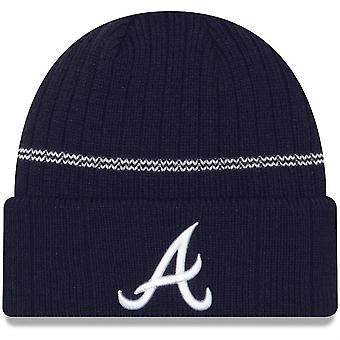 New Era Mlb Atlanta Braves Primary Logo On-field Sport Cuffed Knit