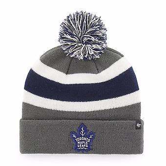 '47 Nhl Toronto Maple Leafs Charcoal Breakaway Cuff Knit