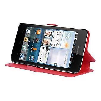 Cadorabo Hülle für Huawei ASCEND G520 / G525   Case Cover - Handyhülle mit Standfunktion und Kartenfach im Ultra Slim Design  - Case Cover Schutzhülle Etui Tasche Book