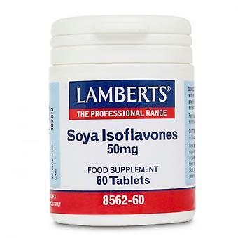 Lamberts Soya Isoflavones 50mg Comprimidos 60 (8562-60)