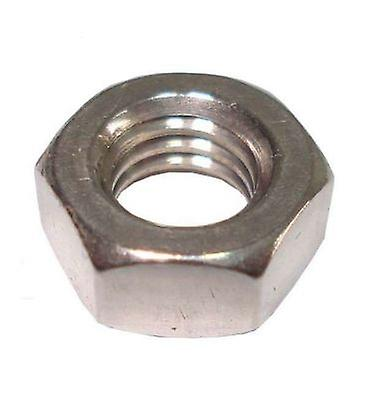 M6 Hex Nut - A4 Stainless Steel - Left Hand Thread Din934