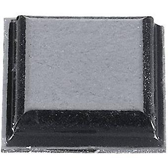 3M SJ 5007 noha samolepiaca, štvorcová čierna (L x š x H) 10,2 x 10,2 x 2,5 mm 1 ks (s)