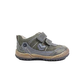 Startrite Trail Leather Boys Rip Tape Casual Shoes