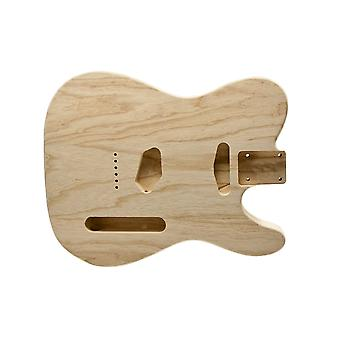 WD Music Telecaster Body Unfinished Swamp Ash Lightweight 1 Piece