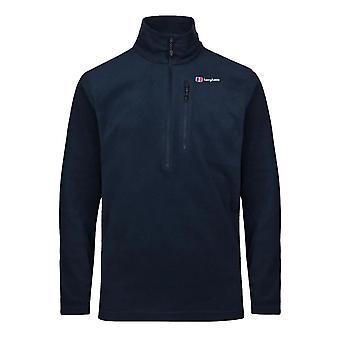 Berghaus Prism Micro Mens Half Zip Fleece Jacket Coat Navy Blue