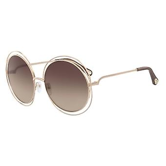 Chloe Carlina CE114SD 784 Rose goud/bruin kleurovergang zonnebril