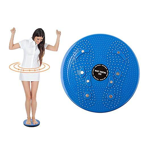 Blue Torsion Waist & Hips Exercise Board for Fitness and Exercise - By TRIXES