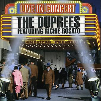 Duprees - Live in Concert [CD] USA import