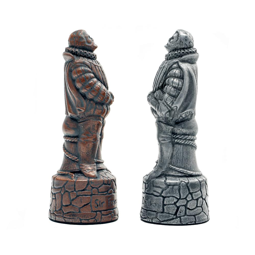 Berkeley Chess English Metallic Chess Men