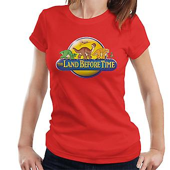 The Land Before Time Logo Women's T-Shirt