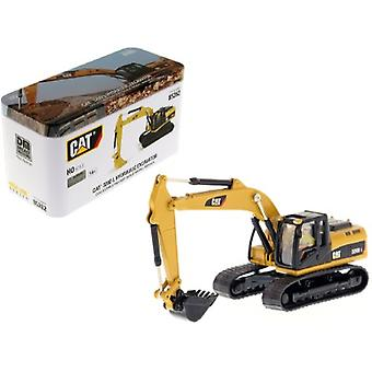 CAT Caterpillar 320D L Hydraulic Excavator with Operator High Line Series 1/87 (HO) Scale Diecast Model par Diecast Masters