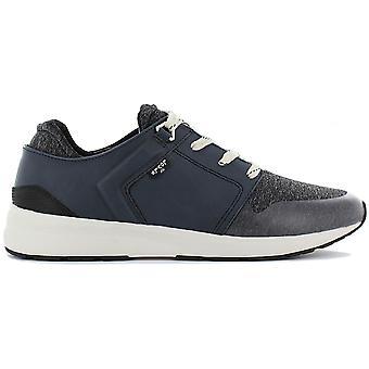 Levis Tummansininen 225137-726-18 Miesten kengät Blue Lenkkarit Urheilukengät