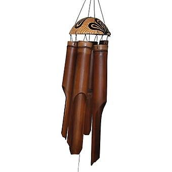 Paisley Dots Simple Bamboo Wind Chime