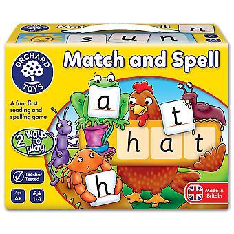 Hra sad Toys a pravopis