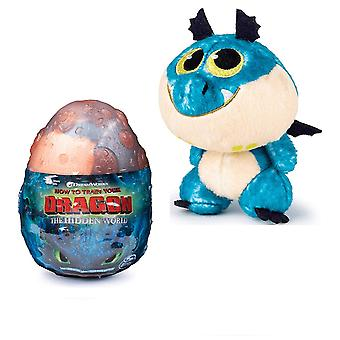 """Orange Egg Gronkle How to Train Your Dragon The Hidden World Plush Figure 3"""" Factory Sealed"""