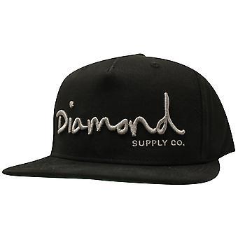 Diamond Supply Co OG Script Snapback Black