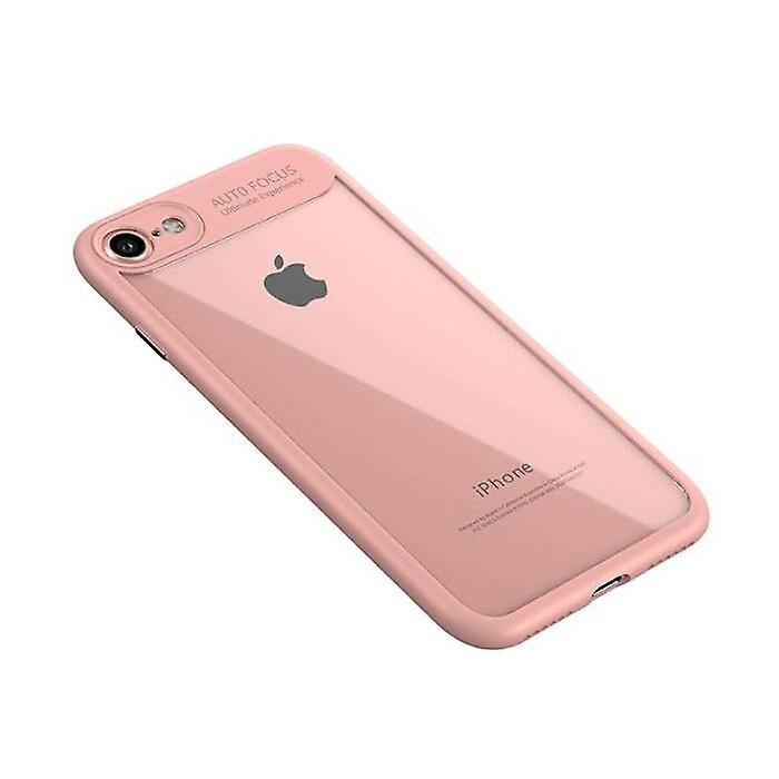 Stuff Certified® iPhone 8 - Auto Focus Armor Case Cover Cas Silicone TPU Case Pink