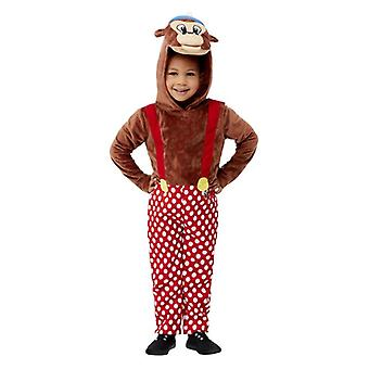 Les tout-petits Rasmus Klump Fancy Dress Costume