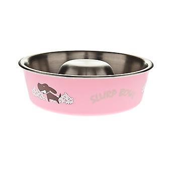 Ferribiella Schüssel Slow-Food Fuss-Bella Cm.17 550 (Hunde , Futter- und Wassernäpfe)