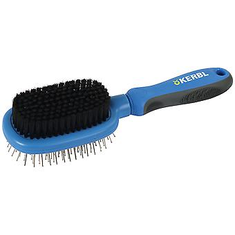 Kerbl Cepillo Doble Flexible Perro (Dogs , Grooming & Wellbeing , Brushes & Combs)