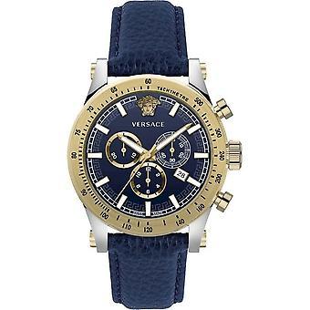 Versace Armbanduhr Herren Sporty Chronograph Quarz Chronograph Datum VEV800219