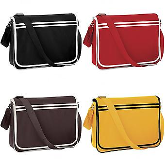 Bagbase Retro Adjustable Messenger Bag (12 Litres)