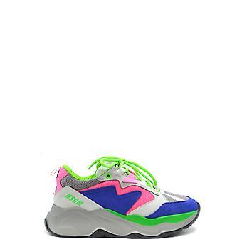 Msgm Ezbc016071 Damen's Multicolor Leder Sneakers