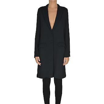 Barena Venezia Ezgl135009 Women's Blue Cotton Coat