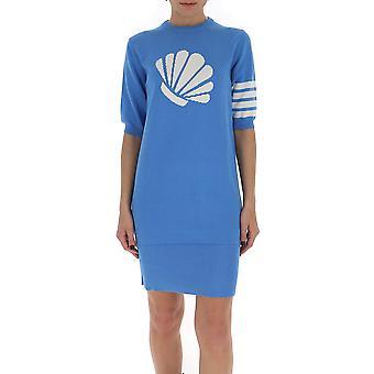 Thom Browne Fkd110a00219450 Women's Light Blue Cotton Dress