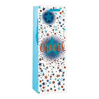 Simon Elvin Cheers Stars Bottle Bag (Pack Of 6)