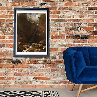 Albert Bierstadt - Glen Ellis Falls Poster Print Giclee
