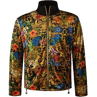 Versace Jeans Couture Baroque Print Track Jacket