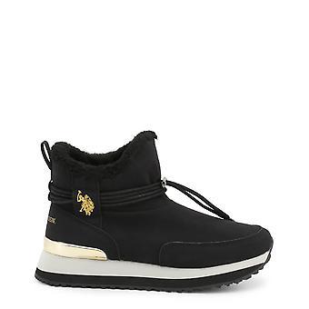 U.S. Polo Assn. Original Women Fall/Winter Ankle Boot - Black Color 36855