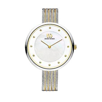 DANISH DESIGN Ladies Quartz analogue watch with stainless steel band IV65Q1131