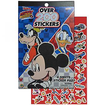 Disney Mickey Mouse 4 Sheet Foil Cover 200+ Stickers