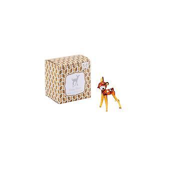 CGB Giftware Glass Deer Ornament