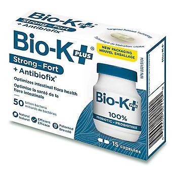 Bio-k + acidophilus probioottien, kapselit, 15 ea