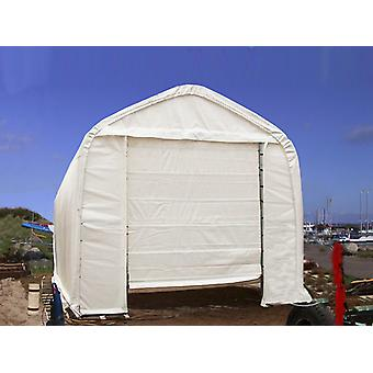 Telthal Oceancover 5,5x15x4,1x5,3m, PE, Hvid