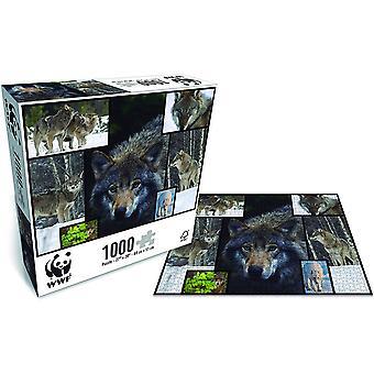 WWF 1000 Stuk Puzzel - Wolven